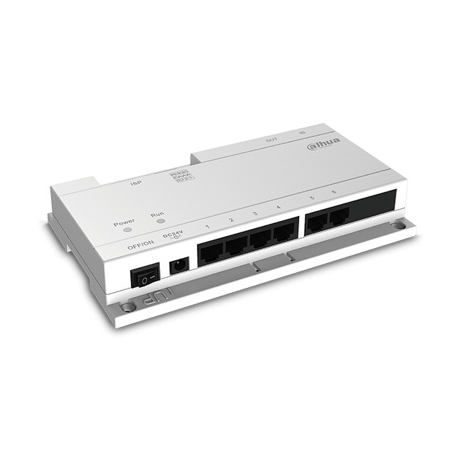 VTNS1060A, Power Switch, 6 PoE x 24VDC, Dahua
